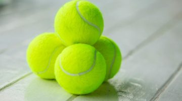 tennis ball tip