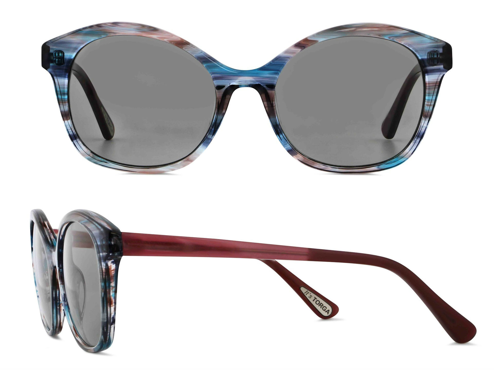 455c7608a45e The eyewear landscape is embracing big, bold, and beautiful this season,  and nothing screams that more than the Femina 5053 frames. Coming in brown,  pink, ...