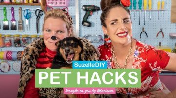 Suzelle DIY pet hacks