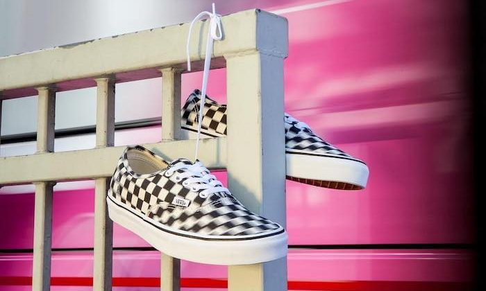 Vans blur check pack
