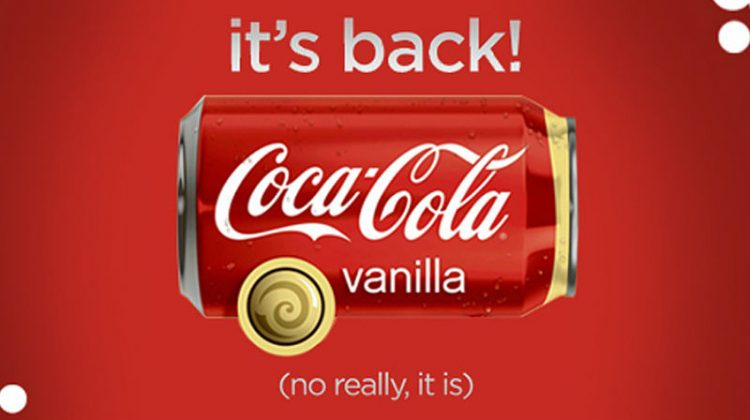 Coke Cola Vanilla