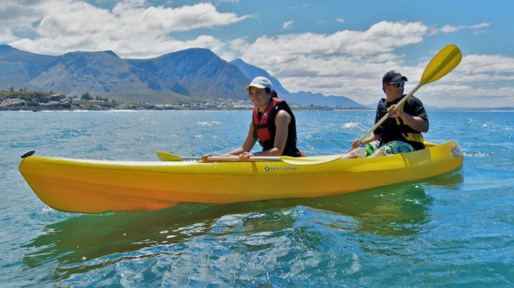 Kayak Fish Hoek Cape Town