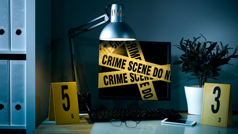 Crime-scene-computer-cyber-security