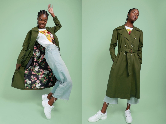 MRP Project Longline Trench Coat