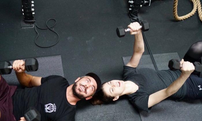 Zac Efron Gym Time