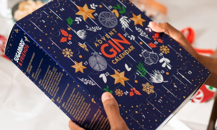Sugarbird & Friends Gin Advent Calendar.