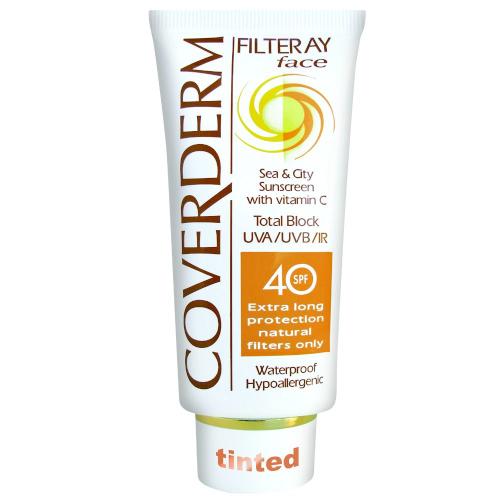 Coverderm Filteray Face Spf40 Tint