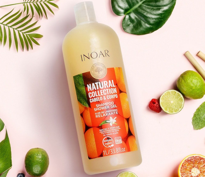Inoar Natural Collection Cabelo & Corpo Shampoo Shower Gel