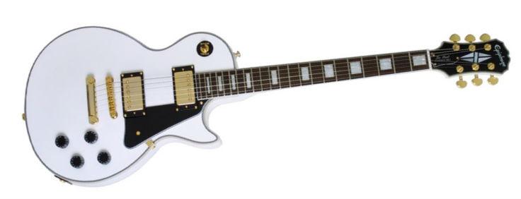 Epiphone Les Paul Custom Pro Arctic White