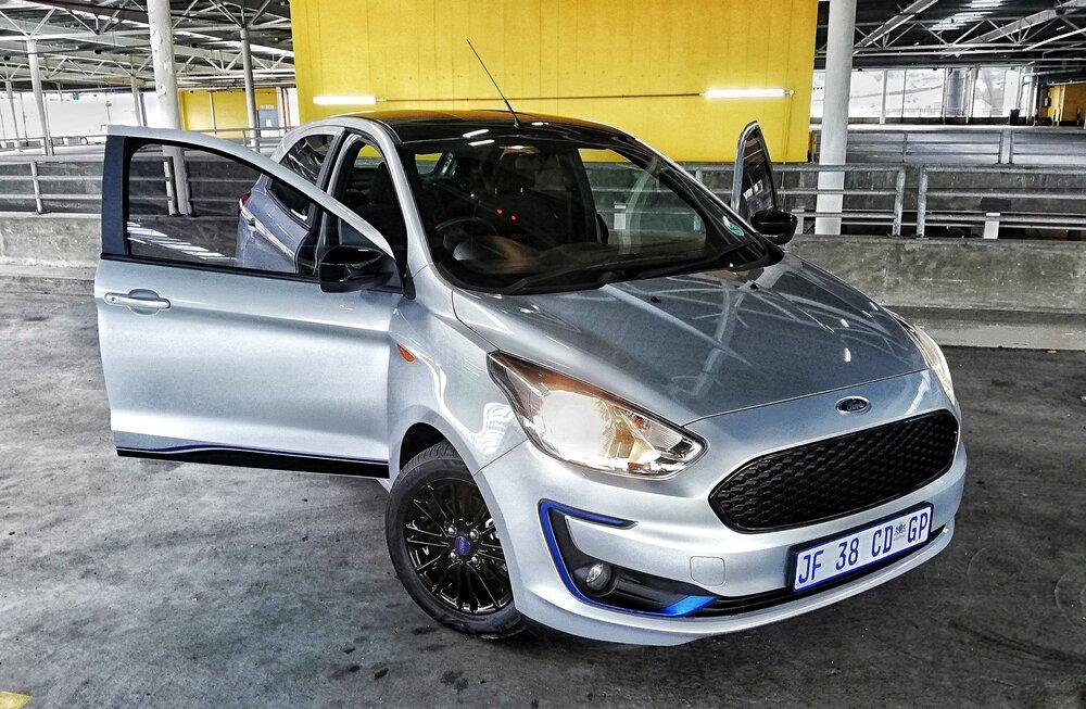 Ford Figo Blu