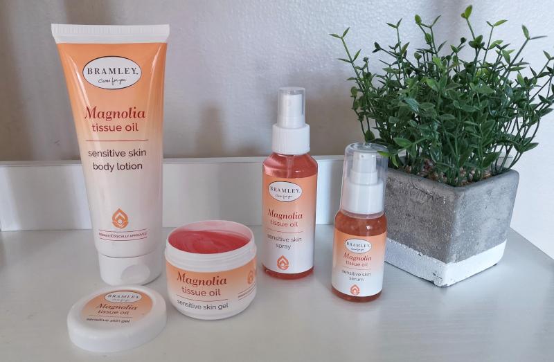 Bramley Magnolia Tissue Oil Range