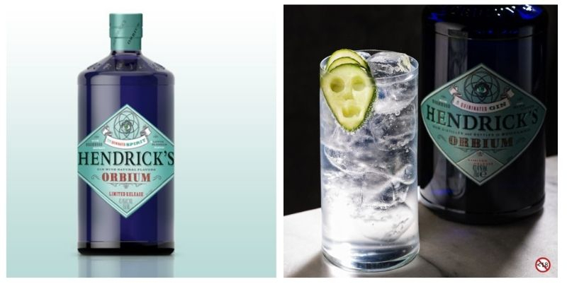 Hendrick's Orbium and Soda
