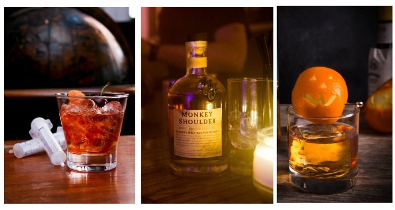 Monkey Shoulder Halloween