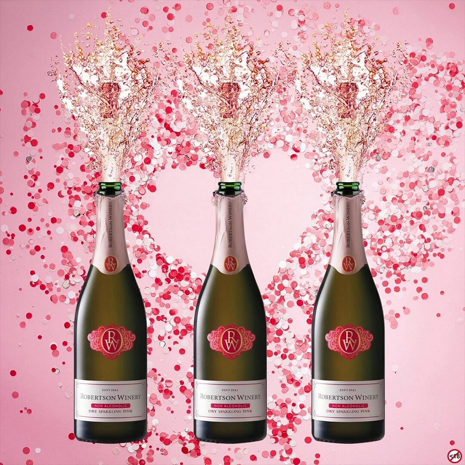 Robertson Winery Non-Alcoholic Dry Sparkling Pink