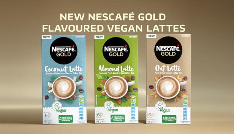 Nescafé Gold Plant-based Instant Coffee Mix