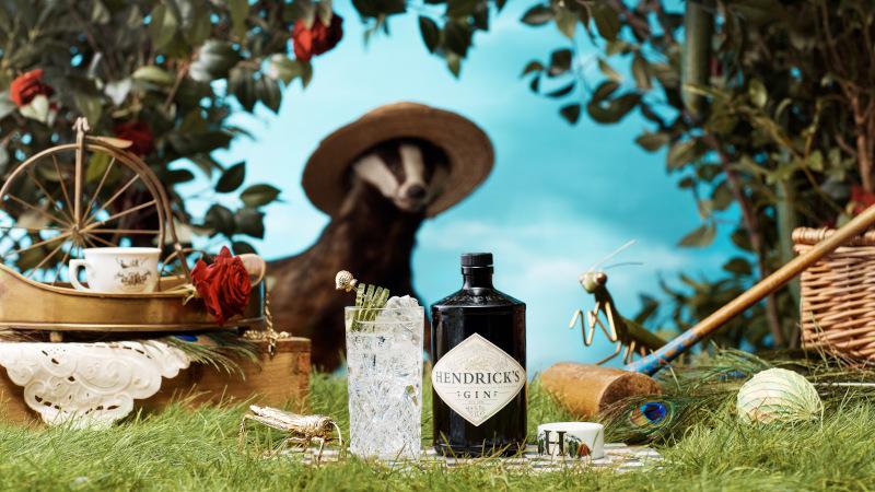 Hendrick's Gin Curler gift pack