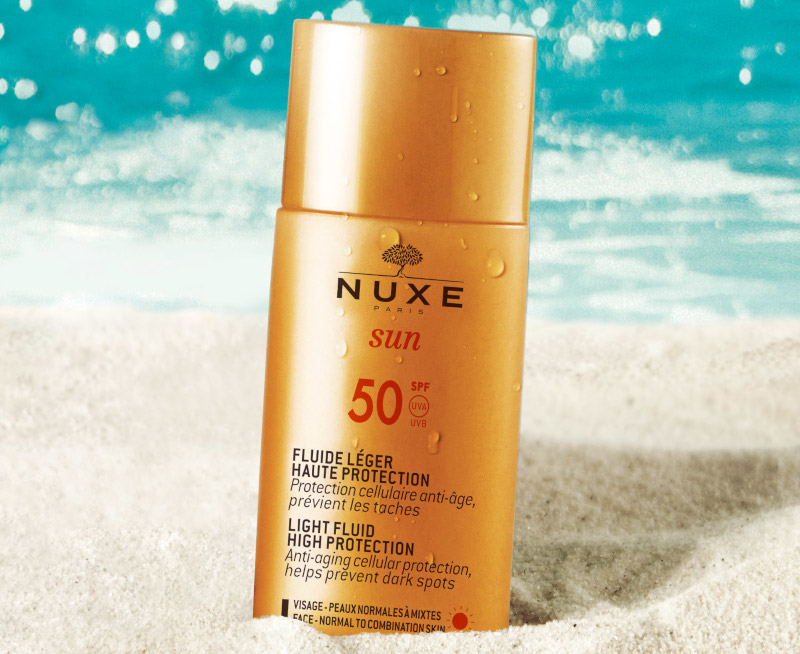 Nuxe Light Fluid High Protection SPF50