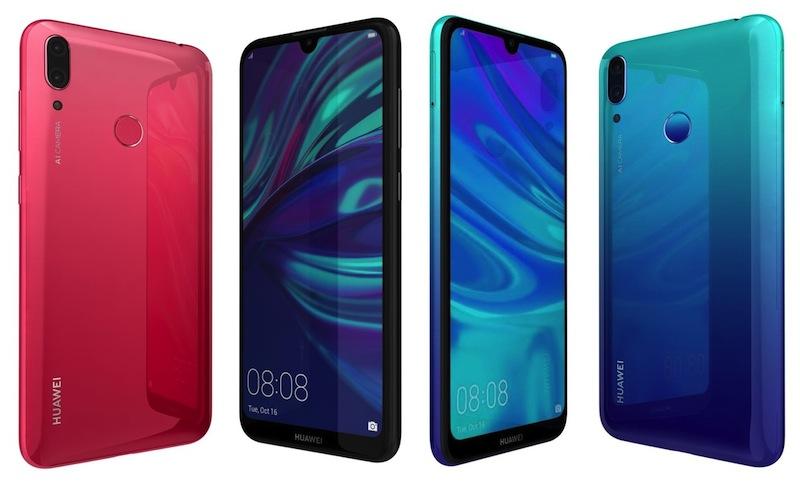 Huawei Y7 smartphone