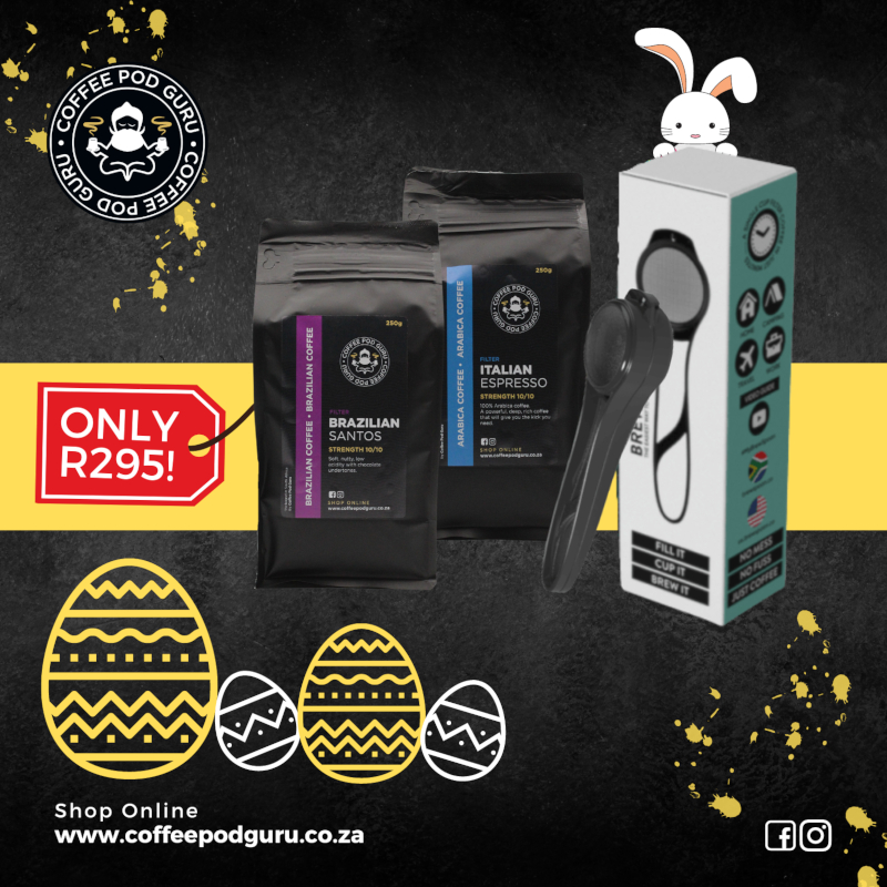 Coffee Pod Guru Easter special