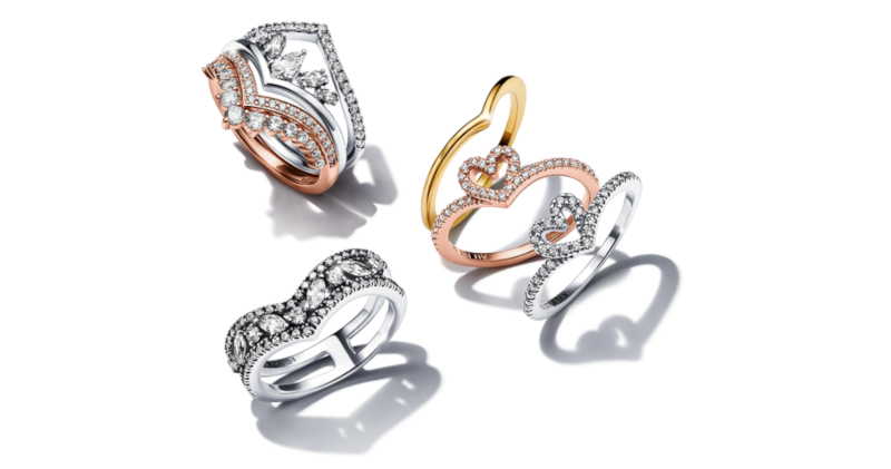 Pandora Wishbone Collection