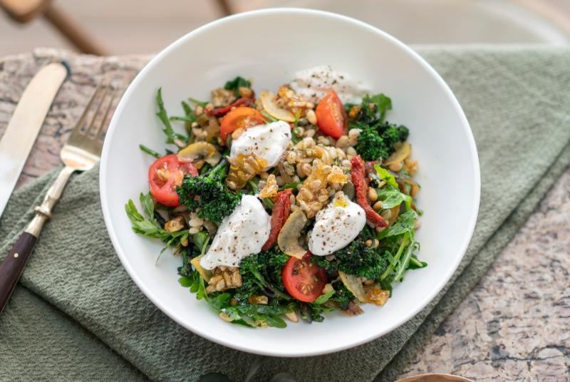 Tashas Barley & Brocolli Salad