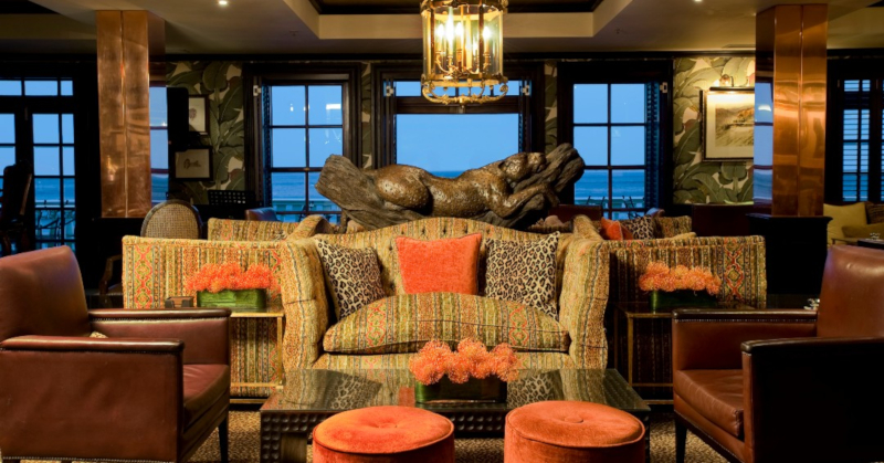 The Leopard Bar at the 12 Apostles in Camps Bay