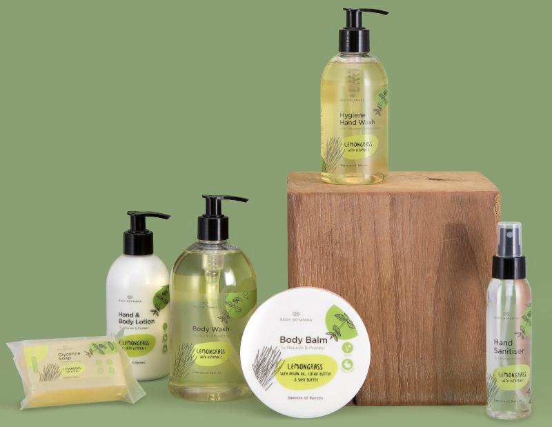 Body Botanika Lemongrass Hand & Body Collection