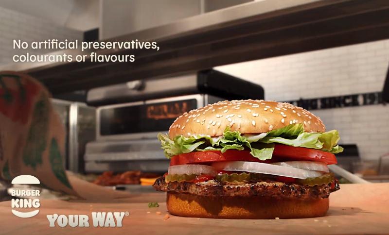 Burger King Clean Whopper