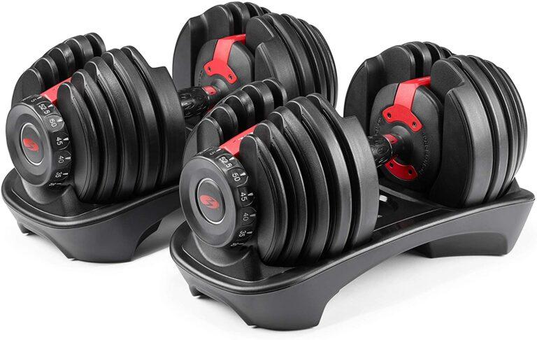 Bowflex SelectTech dumbells