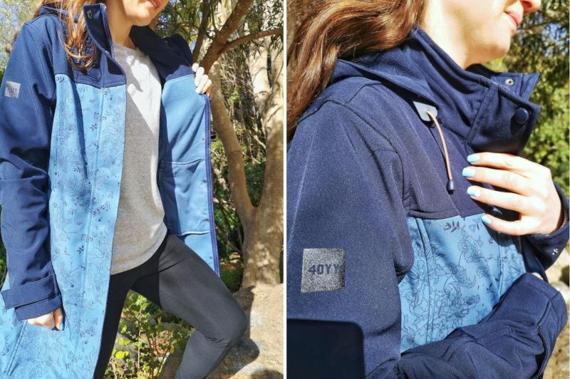 K-Way 40YY Women's Azalea Softshell Coat