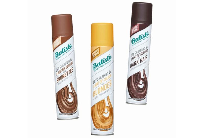 Batiste Dry Shampoo & A Hint of Colour range